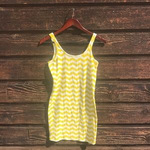BNWT Billabong Chevron Tank Dress, Small